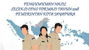HASIL SELEKSI CPNS FORMASI TAHUN 2018 PEMERINTAH KOTA JAYAPURA
