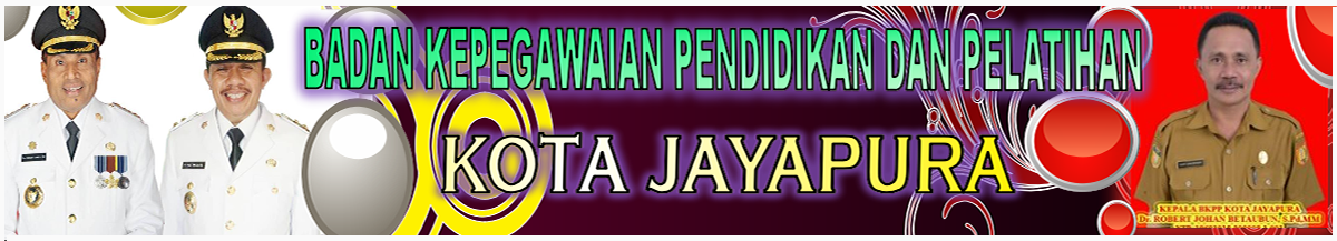Welcome to BKPP Kota Jayapura Website